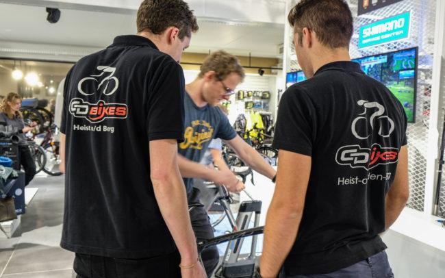 Indoor trainer - demo  CD Bikes Heist-op-den-Berg